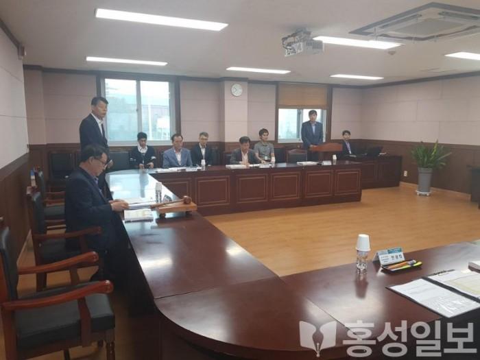 홍성교육지원청, 2020년도 교육환경개선사업 선정 심의위원회 개최 (1).jpg