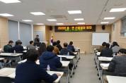 2020년 읍․면 산업팀장 회의 개최